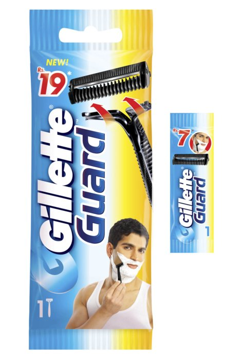 Gillette guard packages