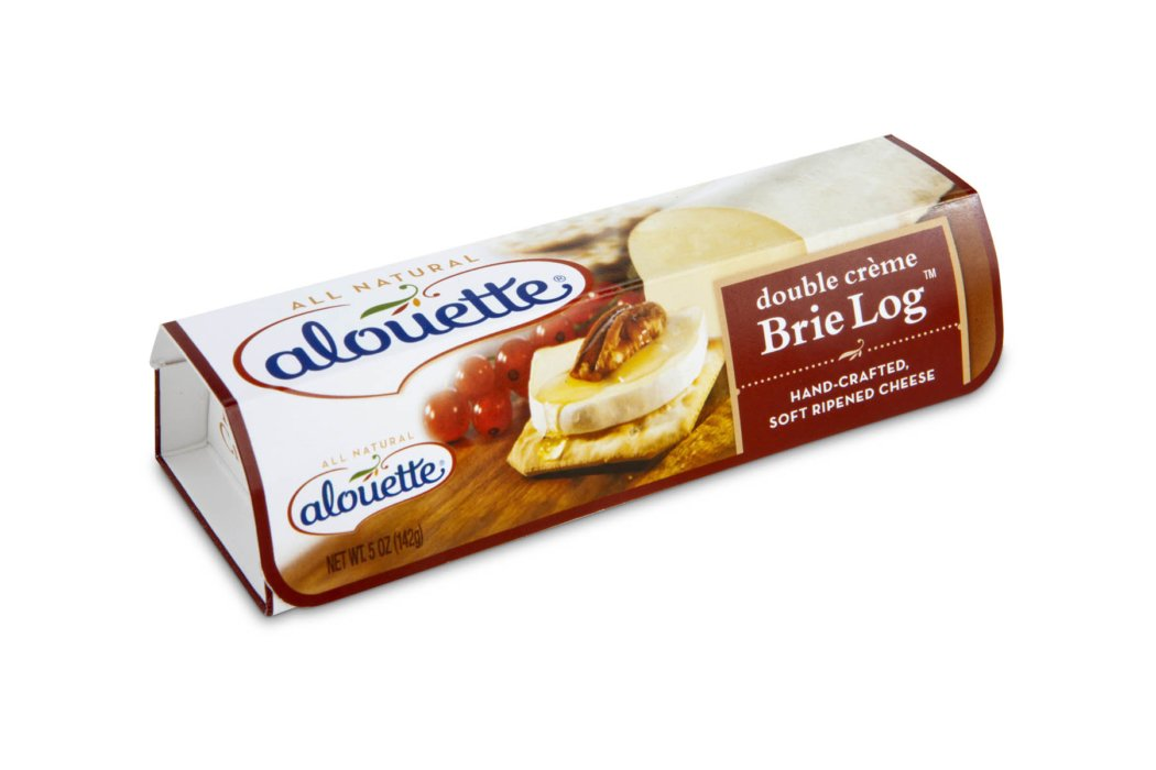 alouette brie log box
