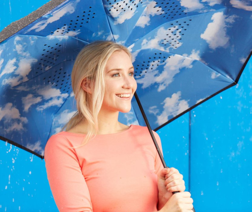 Totes - Inbrella ecommerce image umbrella alternate underside lifestyle