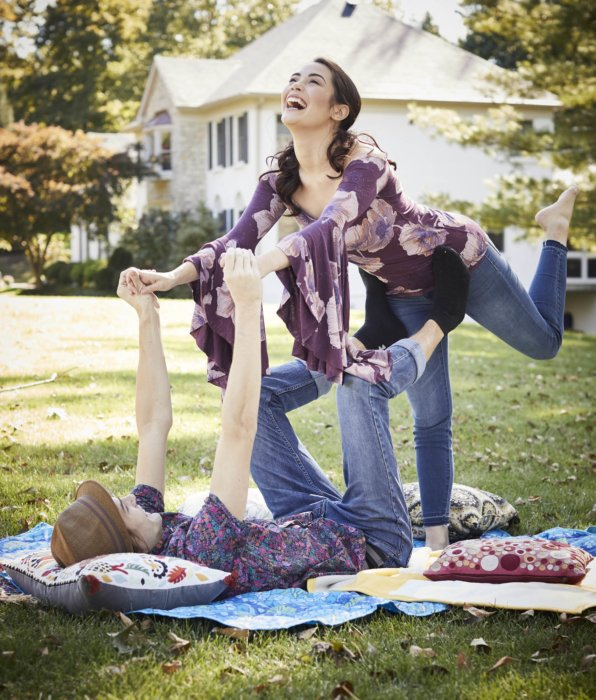 Lifestyle of couple having fun at a picnic