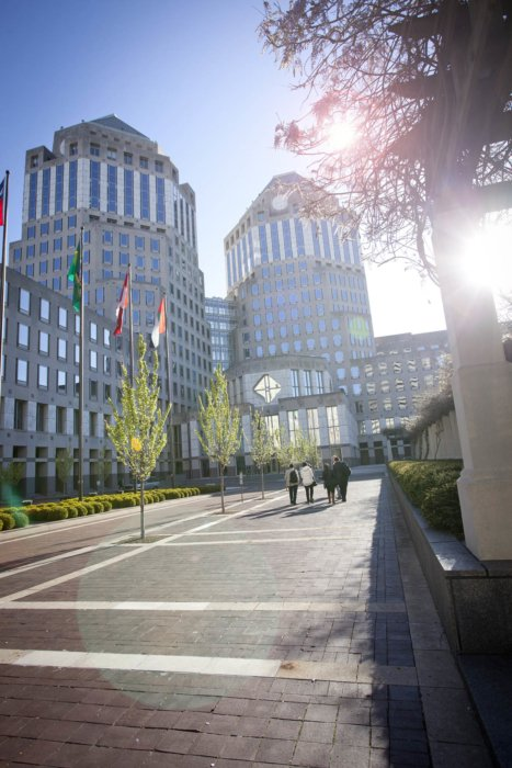 P&G Corporate offices outside