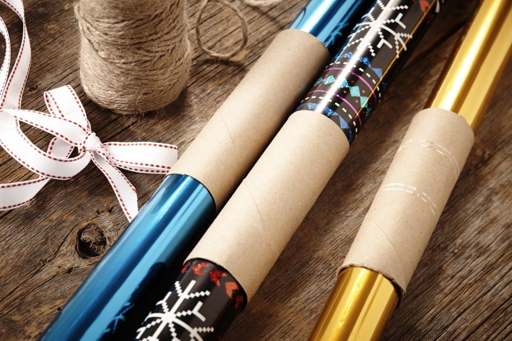 Craft wrapping paper and wrapping products