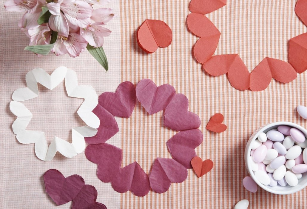 Crafting paper for decorations