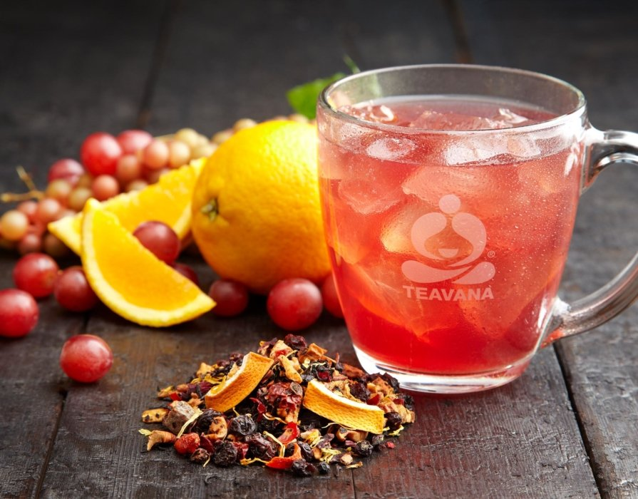 Teavana fruit inspired spiced drink