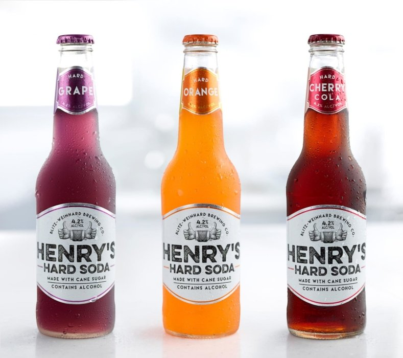 Henry's Sweet Treat Trio of bottles