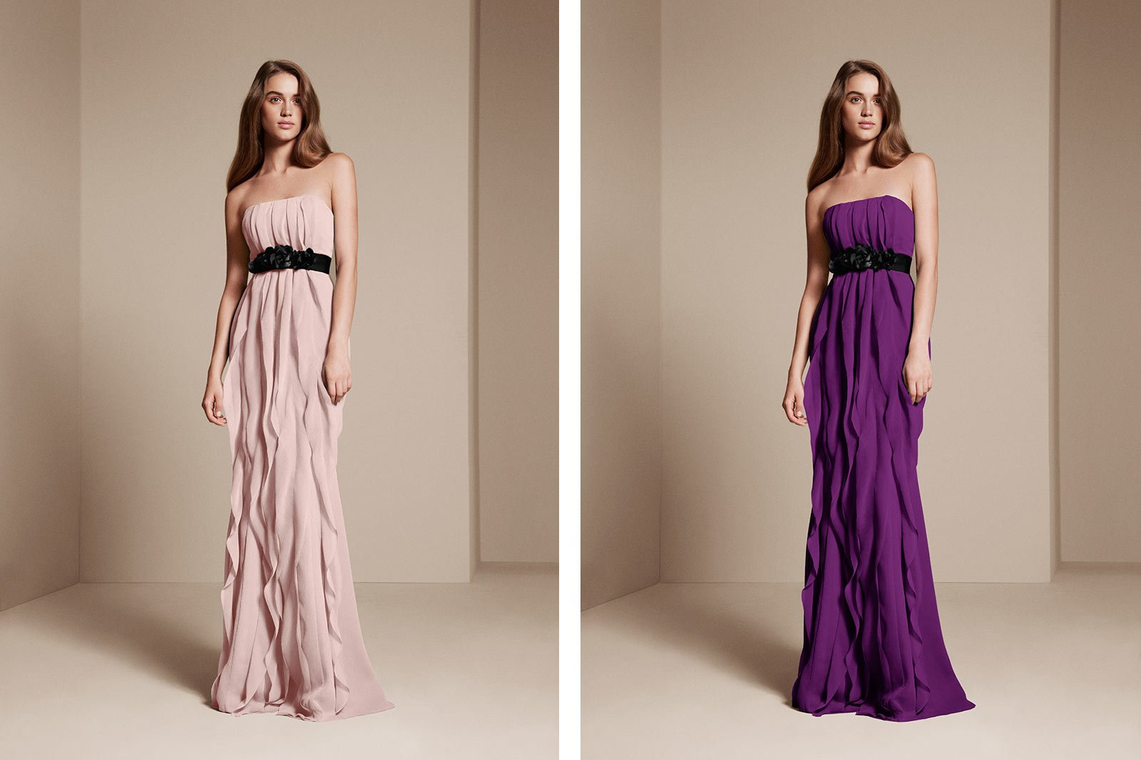 Colorways example - bridesmaid wearing bridesmaid dresses