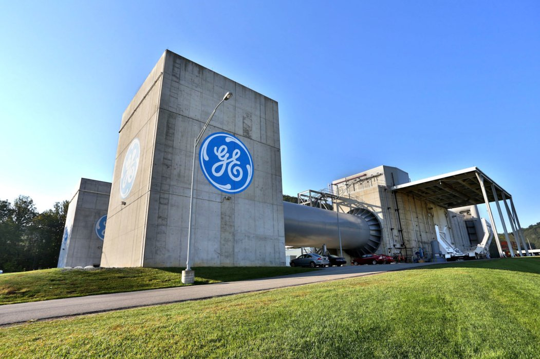 GE industrial facility