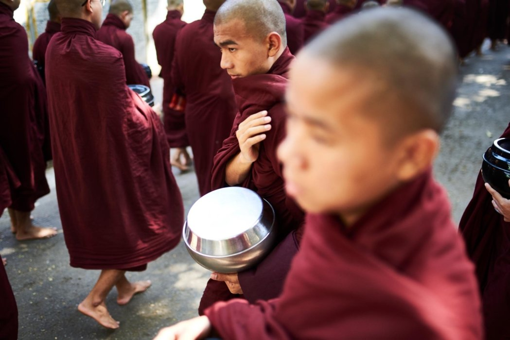 Travel photo of monks