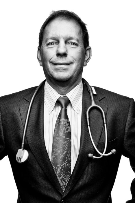 Portrait of a doctor in a suit and tie | Healthcare Photographer