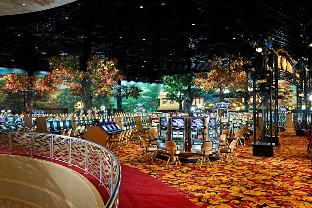 Casino floor architecture and design