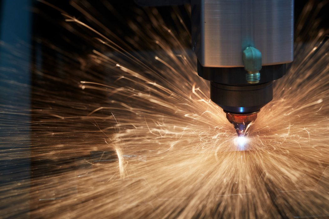 Laser CNC machine spark and plasma