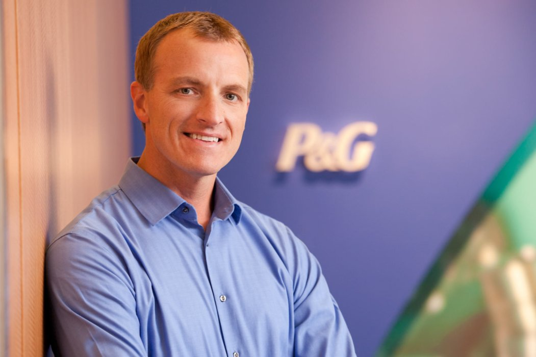 Portrait of a man at P&G corporate offices