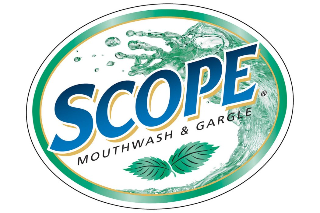 The splash photography of scope logo