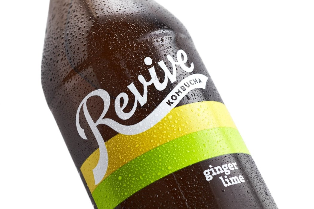Drink photography - Revive kombucha bottle featured image