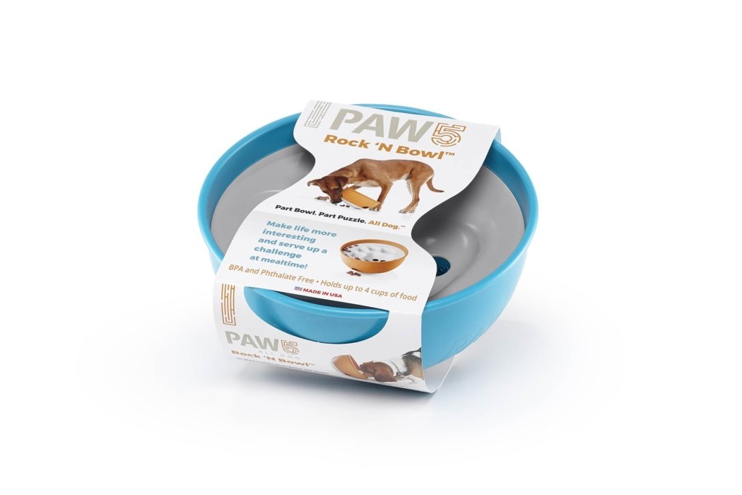 Product photo - PAW 5 dog food bowl on white
