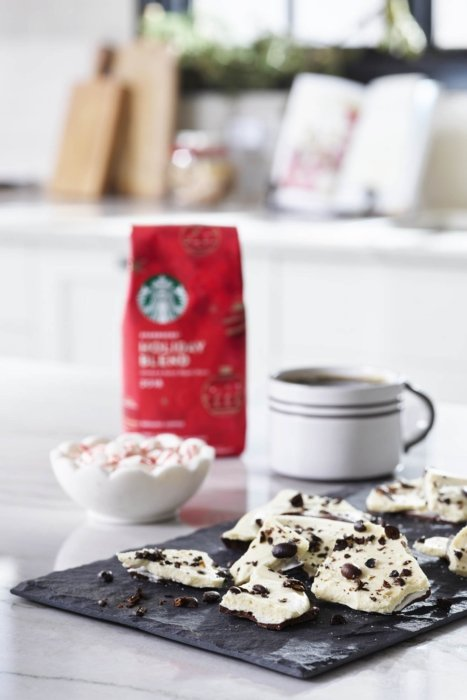 Product photo - Starbuck white chocolate holiday coffee