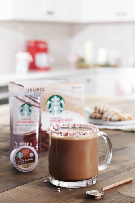 Product photo - Starbuck peppermint coffee Kpod