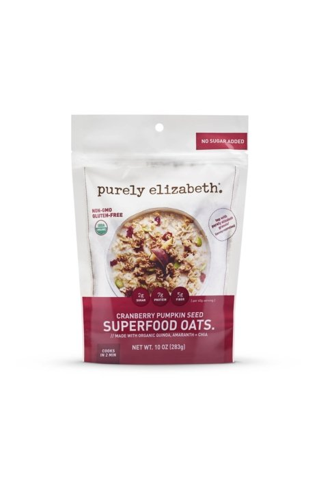 Product photo - purely elizabeth granola packaging cranberry pumpkin
