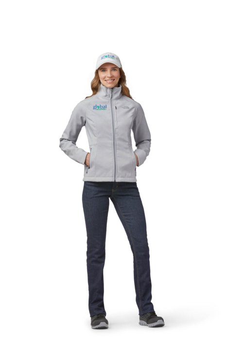A female model wearing a jaket and hat - ecommerce apparel photography