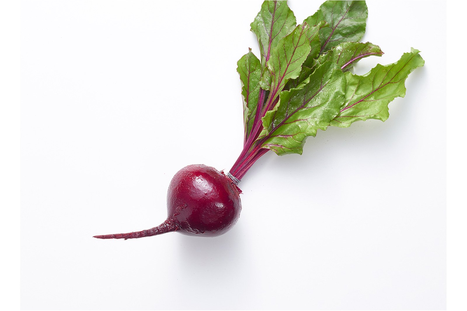 Beet before photo retouching