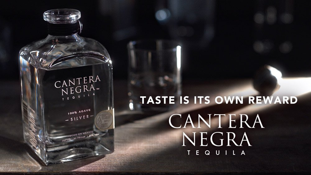 Cantera Negra Silver Tequila Video