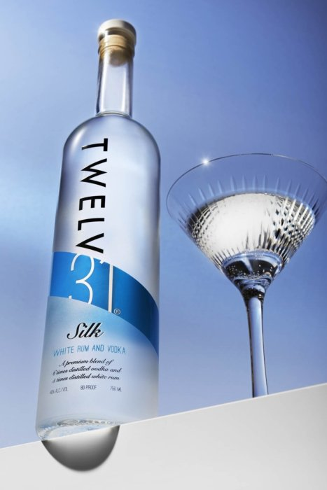 Twlev 31 silk - white rum and vodka