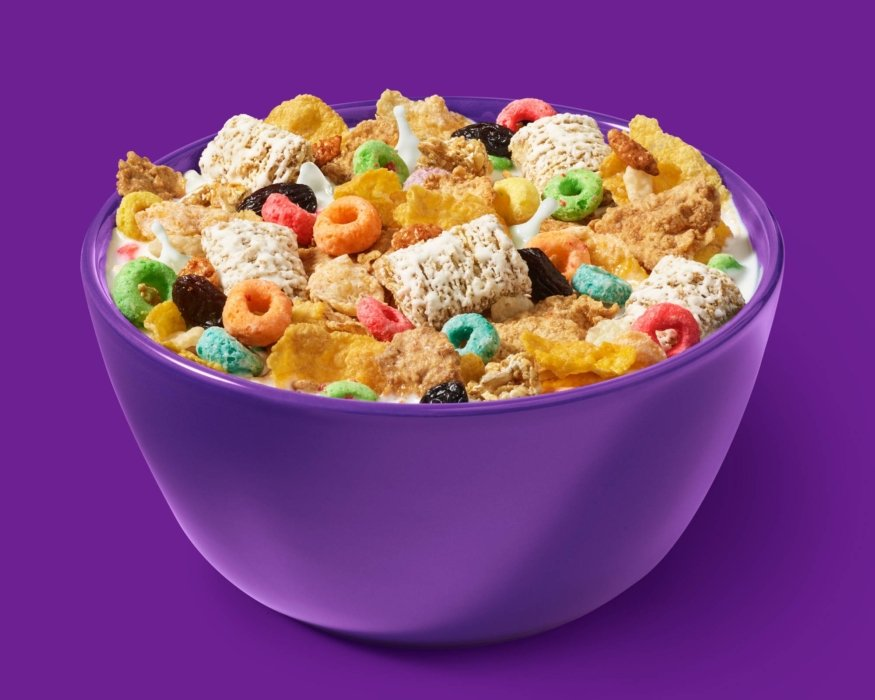 Kellogs everything in a bowl cereal