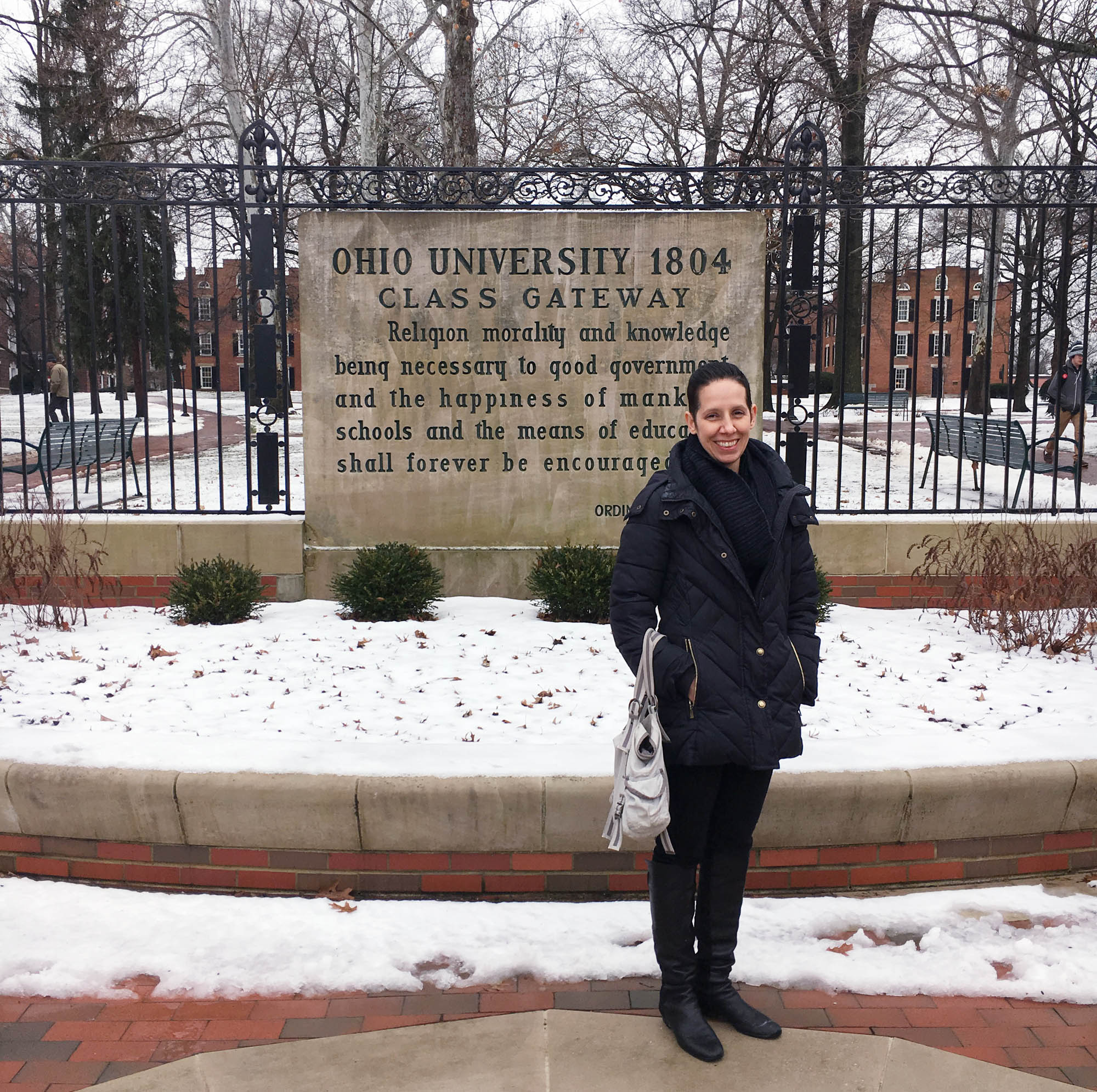 Nancy Armstrong visiting Ohio University 1