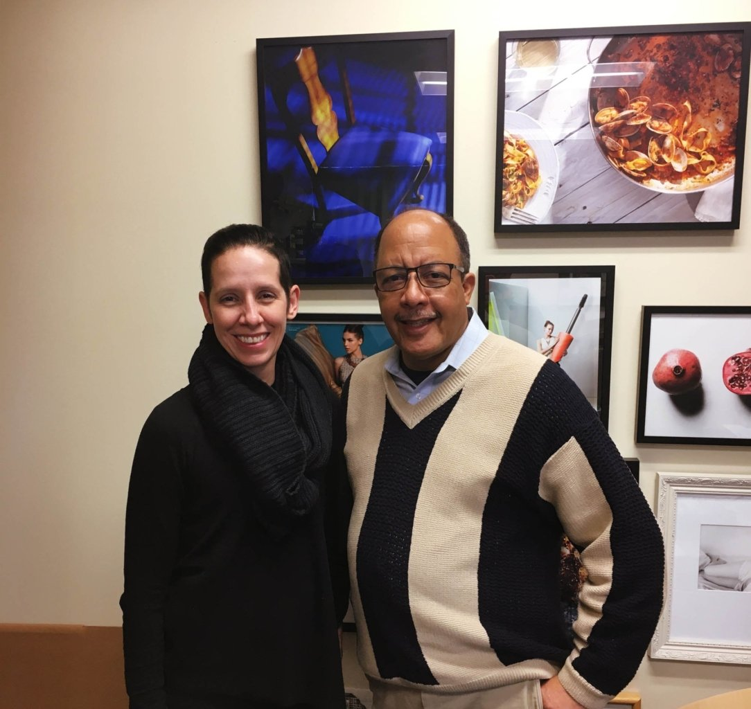 Nancy Armstrong visiting Ohio University with Gary Kirksey