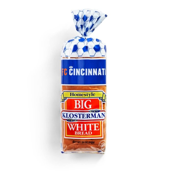 homestyle big klosterman white bread packages food