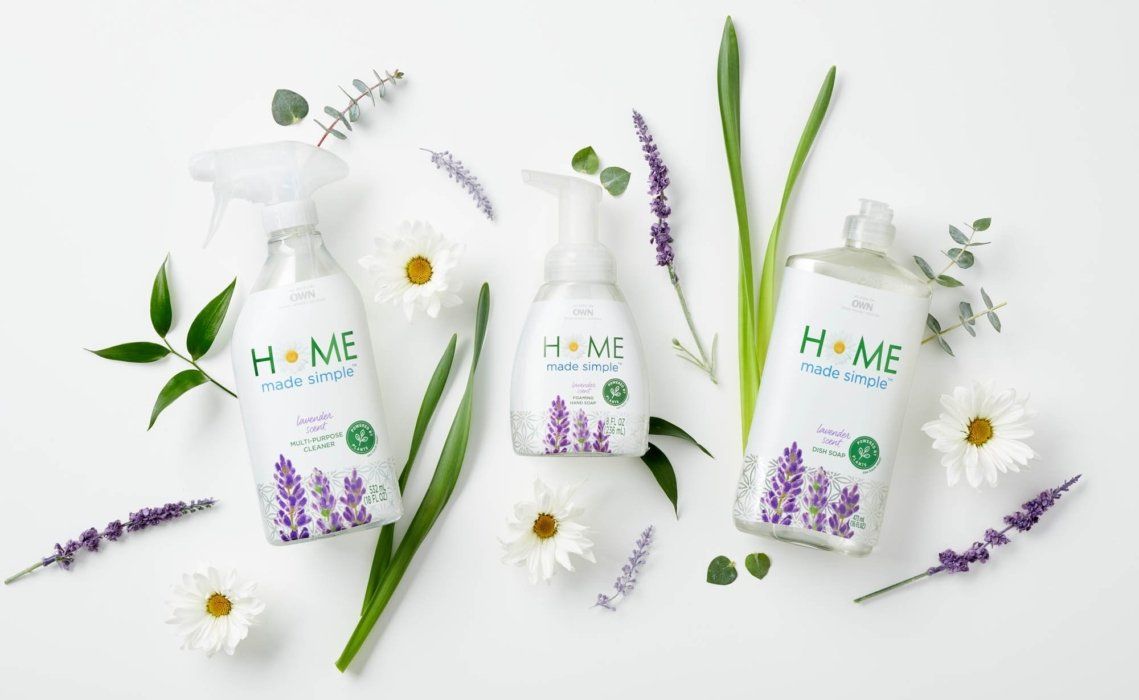 Home made simple cleaning products and soaps