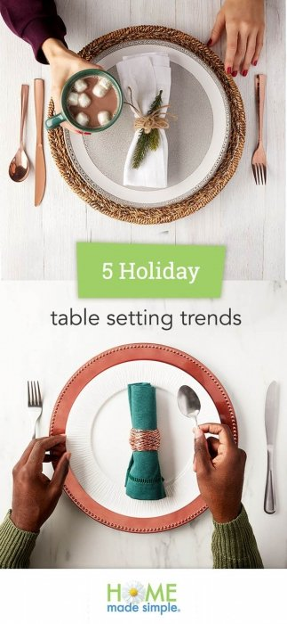 Table settings pinterest - product photography
