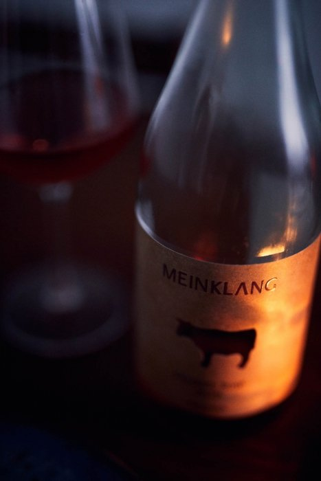 A dark fine wine Meinklang- wine photography