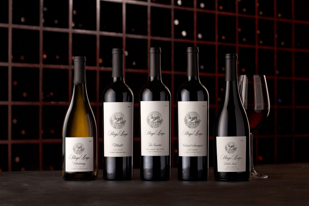 A family of stags leap wines - wine photography