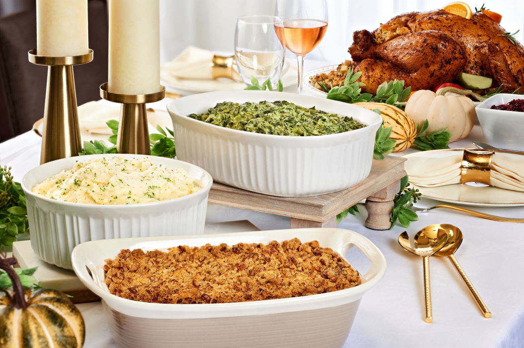 A thanksgiving dinner fit for a magazine - food photography