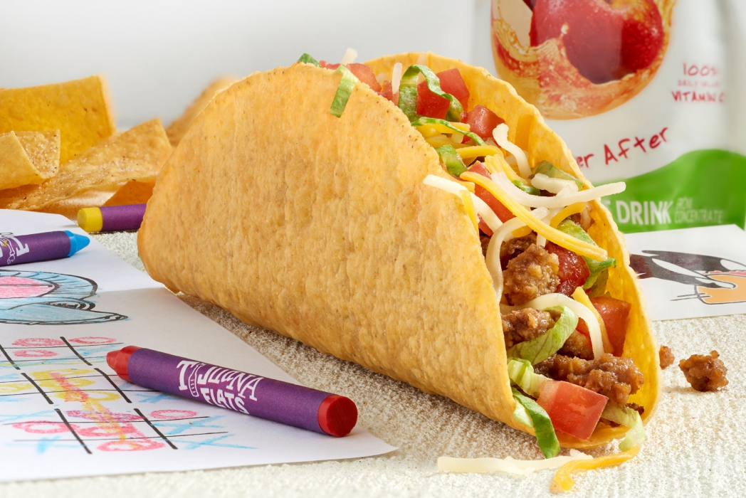 Kids taco meal - food photography